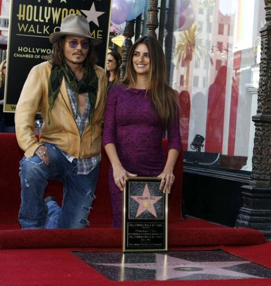 Penelope Cruz ir Johnny Deppas