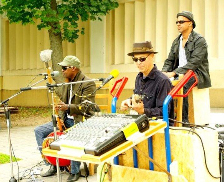 "Markus James ir grupės ""Wassonrai"" muzikantai"