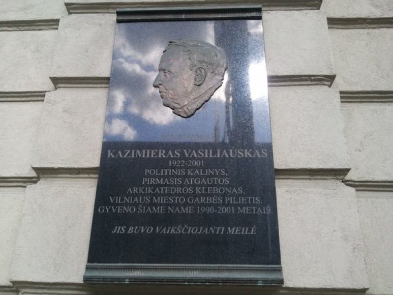 Lenta K.Vasiliauskui