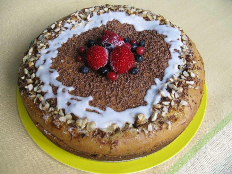 Šventinis varškės pyragas