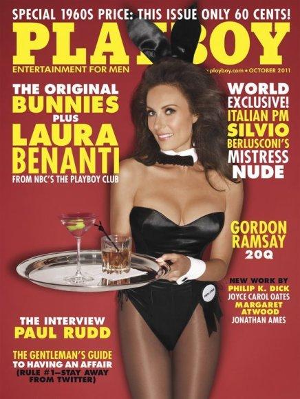 """Playboy"" spalio numeris"