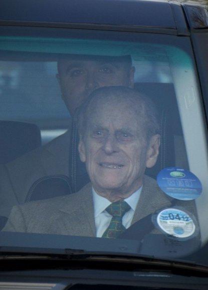 Princas Philipas palieka ligoninę.