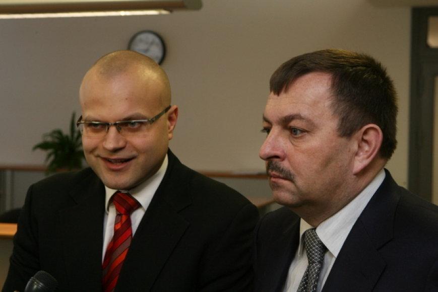 Tomas Vaišvila ir Vilius Navickas