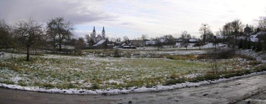 Žemaičių Kalvarijos miestelio panorama