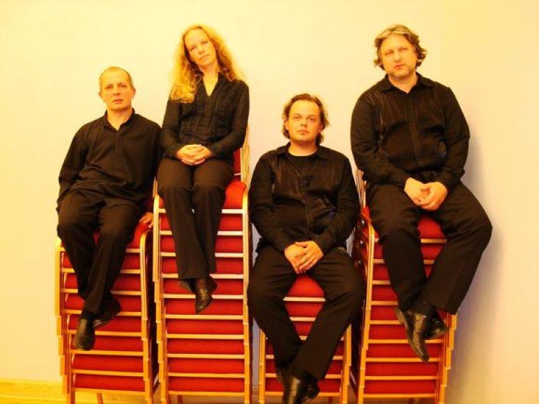"""Festivalyje kūrinius atliks styginių kvartetas """"Chordos""""."""