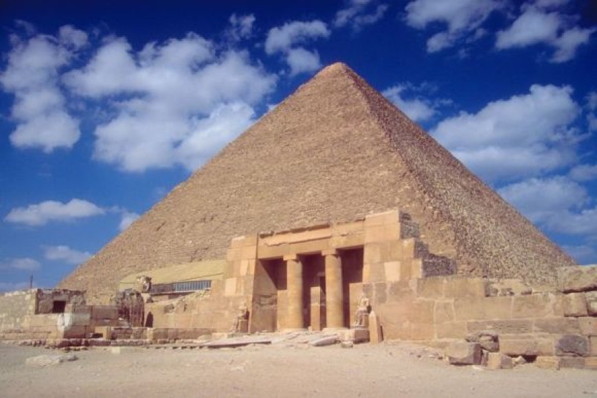 Viena iš Egipto piramidžių