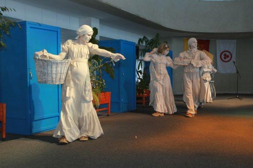 Trečią kartą rengiama Kultūros dieną sukvietė į Žvejų rūmus.