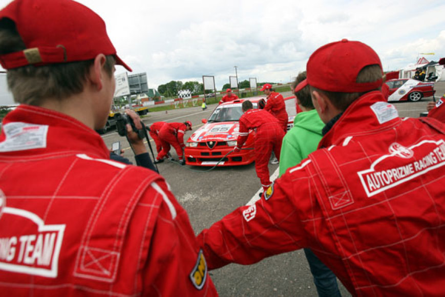 Baltijos šalių automobilių žiedinių lenktynių atvirojo čempionato antrasis etapas