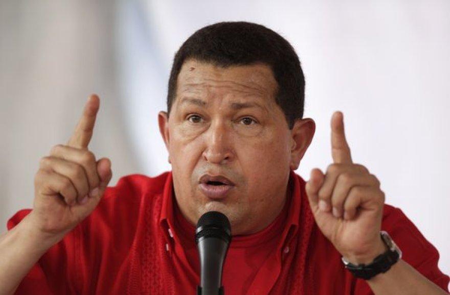 Sportuojant H.Chavezui pavyko atsikratyti 9 kilogramų.
