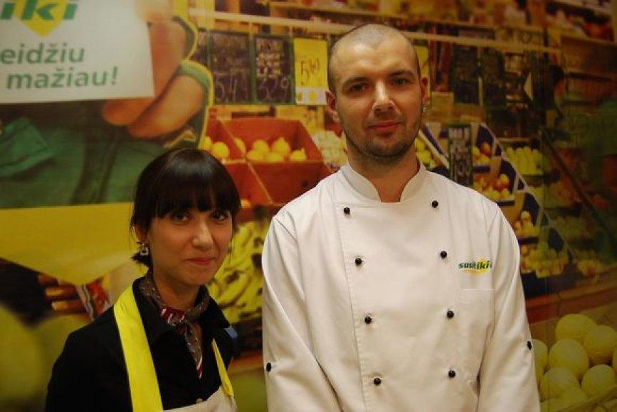 """""""Susitikime virtuvėje"""" – Milda ir Linas"""