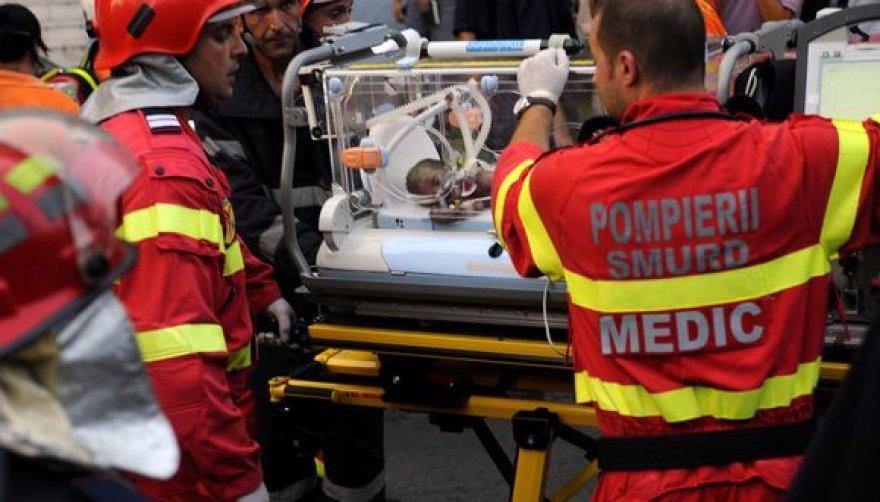 Per sprogimą smarkiai apdegė aštuoni naujagimiai