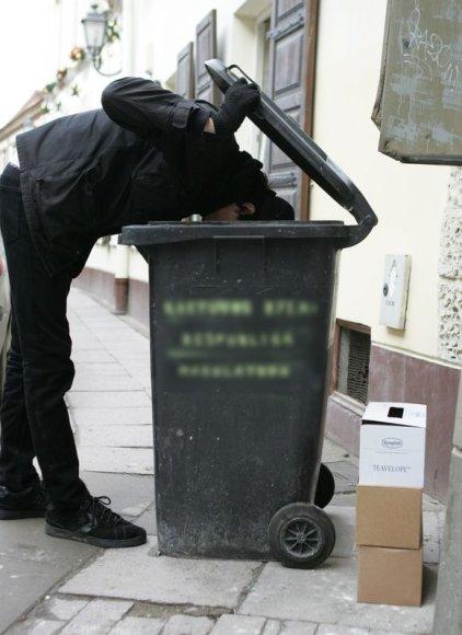 Šiukšlių konteineris