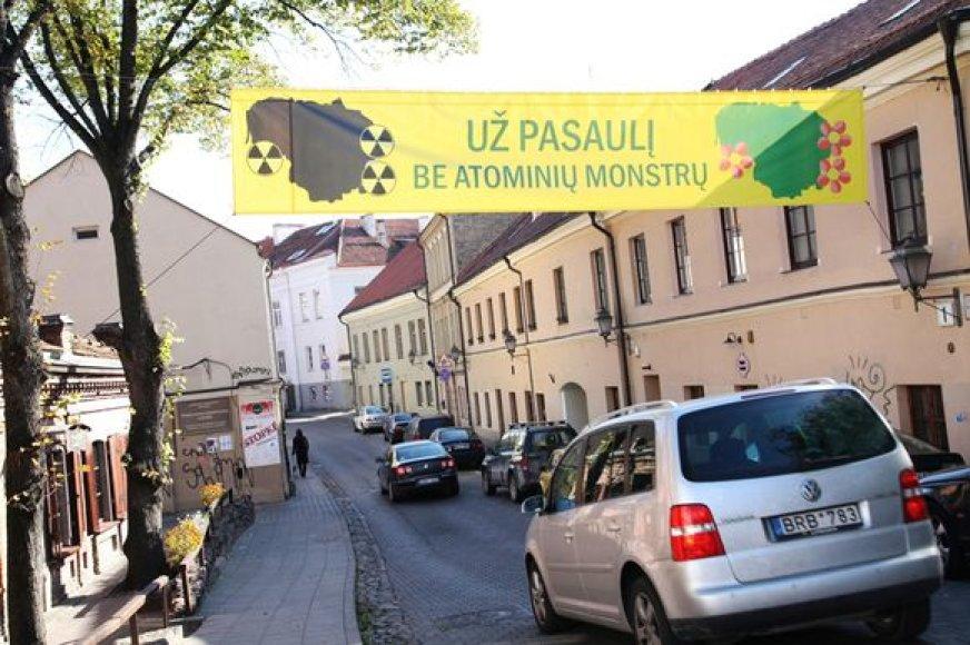 Plakatas Užupyje