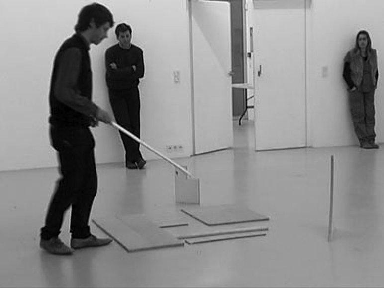 Prancūzų menininkas Benoît Maire ir lietuvis galerininkas Jonas Žakaitis publiką įtrauks į pačių sukonstruotą idėjų kaleidoskopą.
