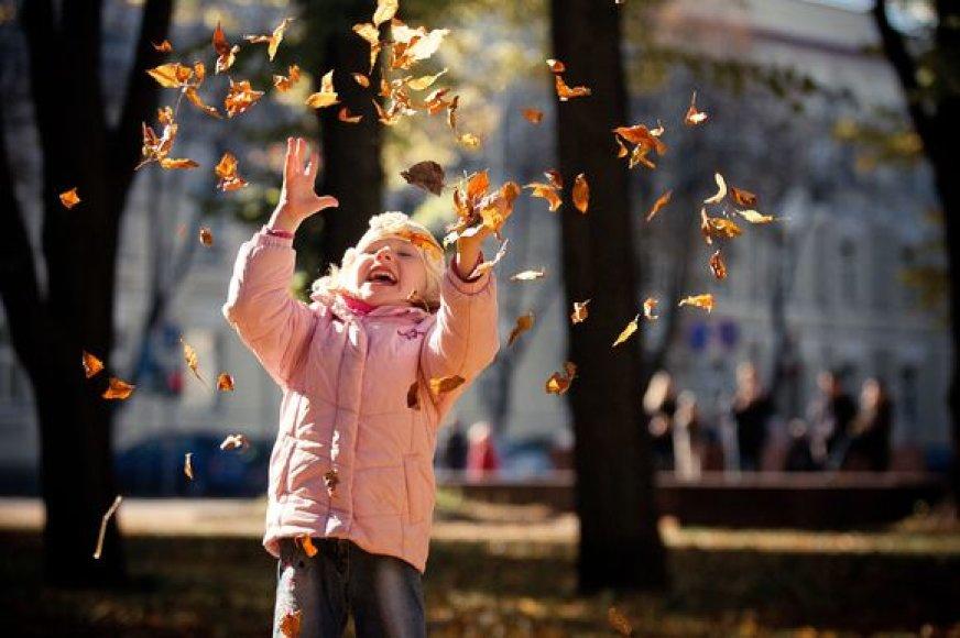 Vilniaus vaizdai rudenį