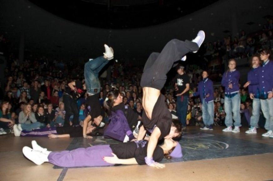 """Savaitgalį vyks šokių kovos """"Urban dance"""""""