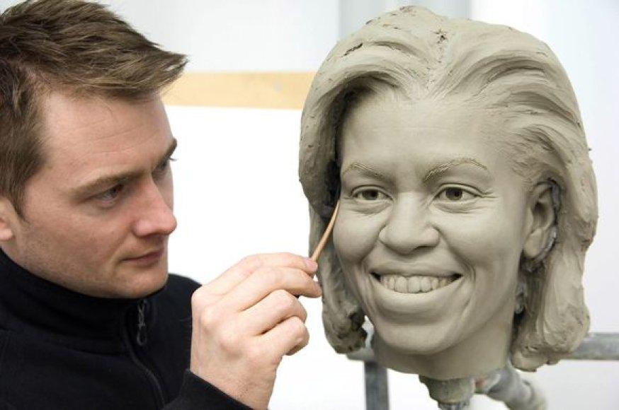 Michelle Obama molinė figūra