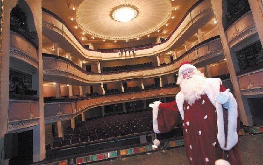 Muzikinio teatro solistas T.Ladiga norėtų, kad Kalėdų Senelio autoritetas nebūtų matuojamas pagal užsakovų kišenę.