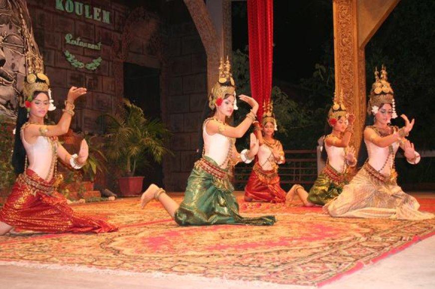 Kelionės akimirka iš Kambodžos