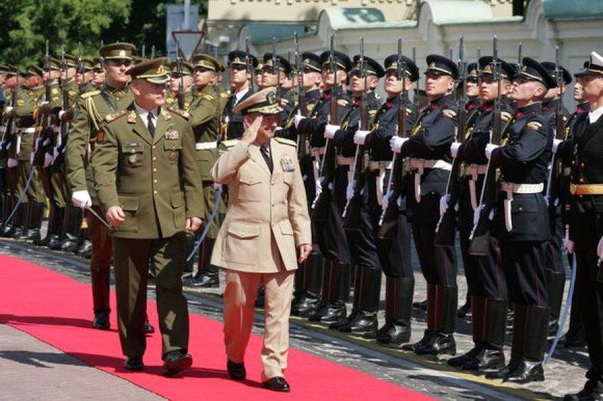J.Stavridis su oficialiu vizitu lankosi Lietuvoje