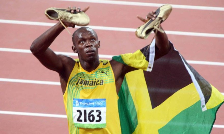 U.Boltas nominuotas net tris kartus