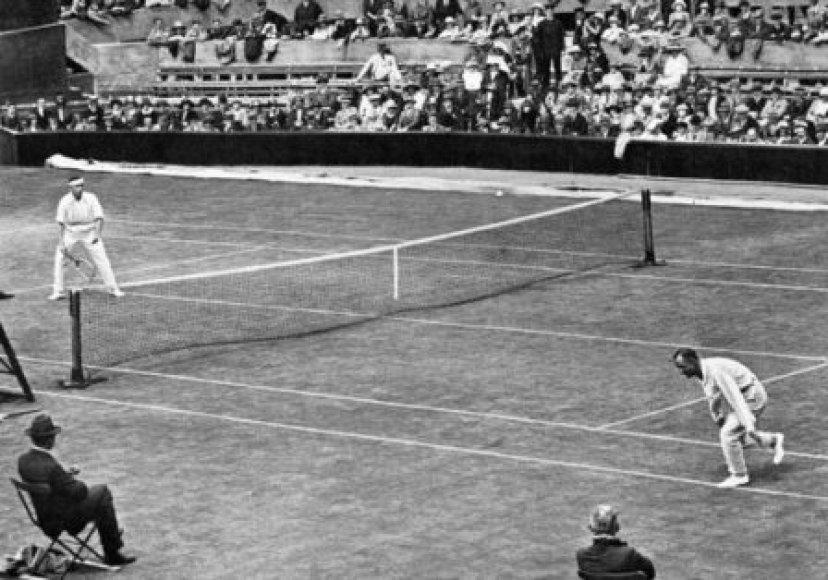 1931-aisiais Wimbledonas atrodė taip...