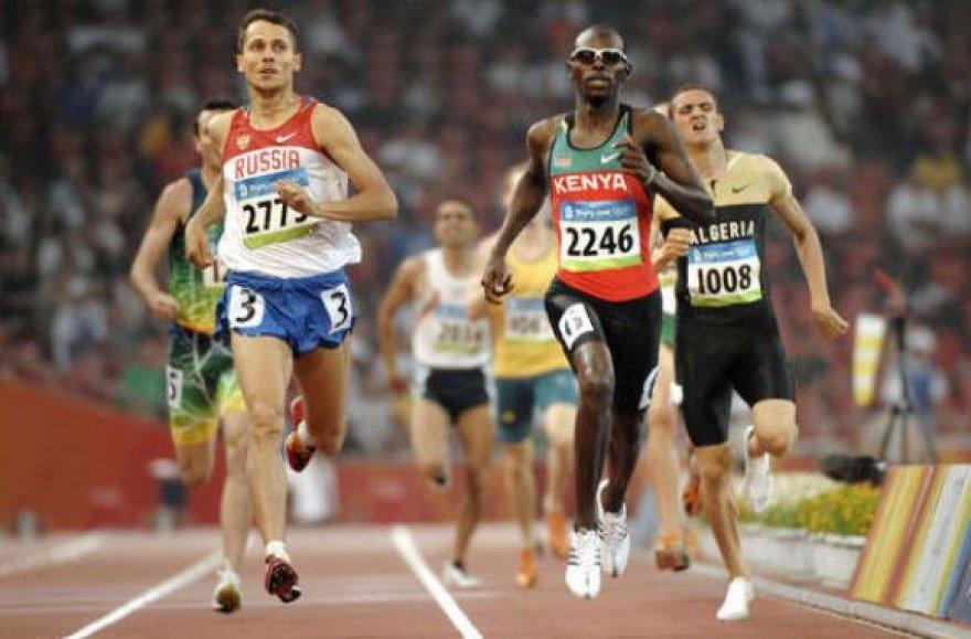Rusijos rinktinės pagrindinė viltis – bėgikas Jurijus Borzakovskis