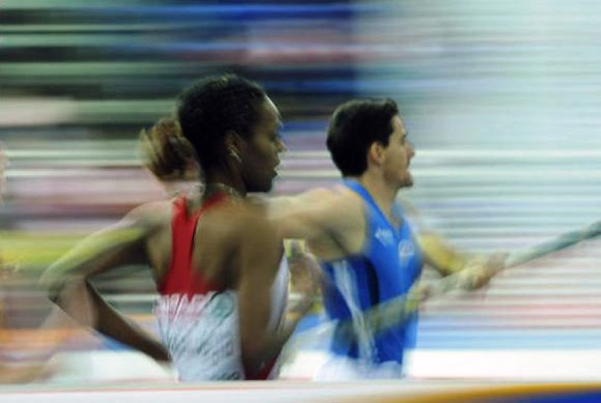 JAV eteryje daugės lengvosios atletikos transliacijų