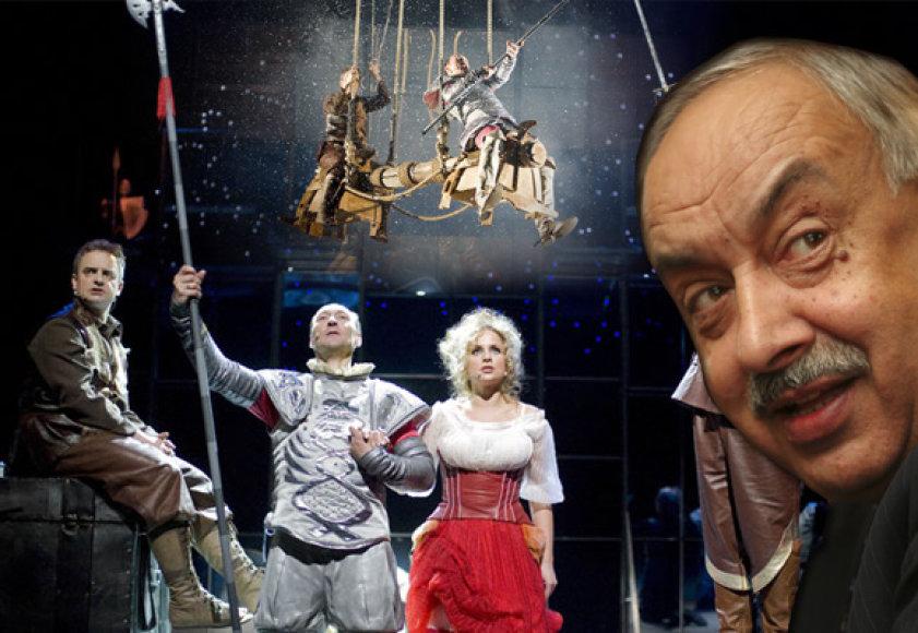 """Adolfo Večerskio spektaklis """"Žmogus iš La Mančos"""""""