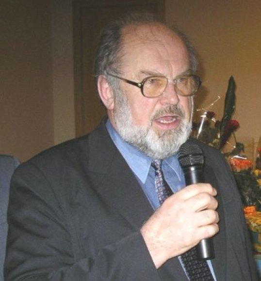 Rašytojas Algimantas Zurba