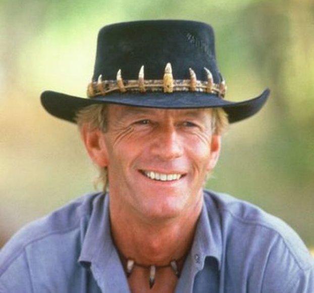 Krokodilą Dandį vaidinęs Paulas Hoganas