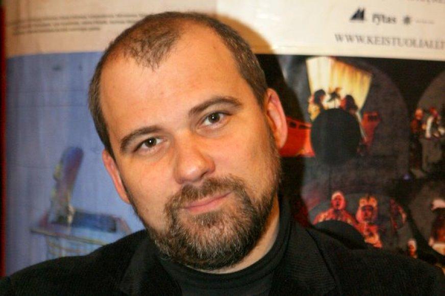 Aktorius ir režisierius Aidas Giniotis
