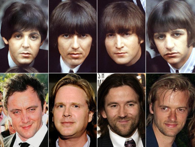 """Garsiuosius """"The Beatles"""" įkūnys 4 aktoriai"""