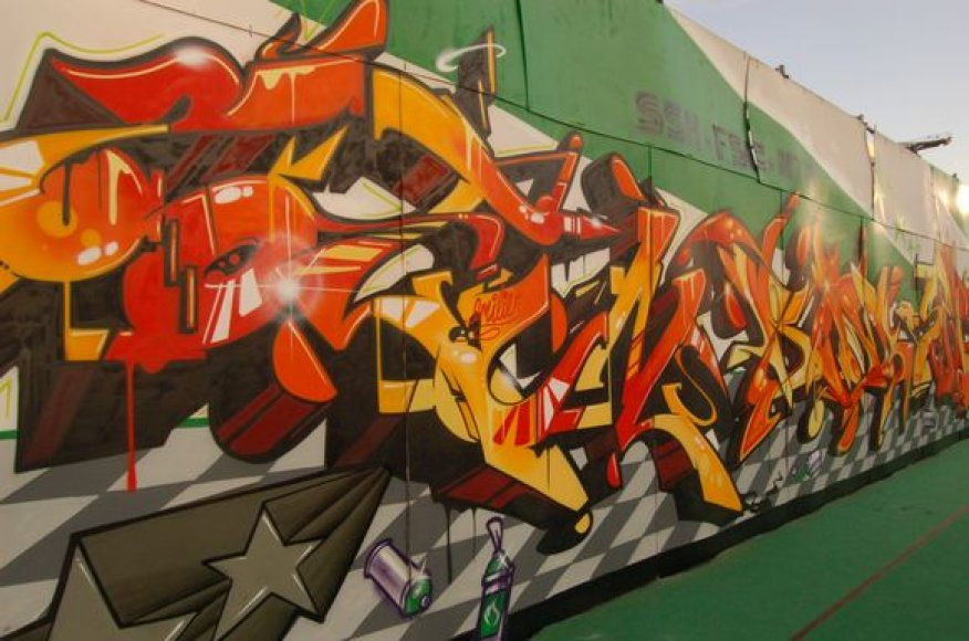 Grafiti menas