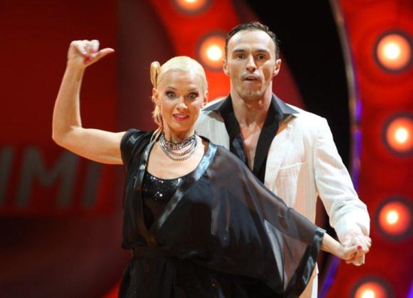 Violeta Burneikienė ir Tomas Kairys