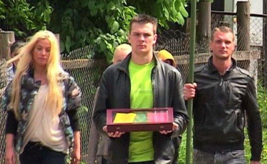 """Projekto """"Aš myliu Lietuvą"""" dalyviai"""