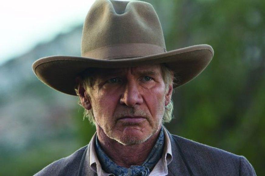 """Harrisonas Fordas filme """"Kaubojai ir ateiviai"""""""