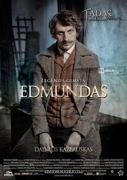 """Dainius Kazlauskas filme """"Tadas Blinda. Pradžia"""" sukūrė Edmundo personažą"""