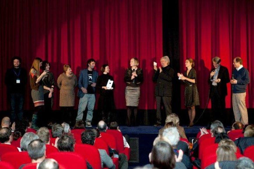 """""""Skalvijai"""" įteiktas """"Europa Cinemas"""" apdovanojimas"""