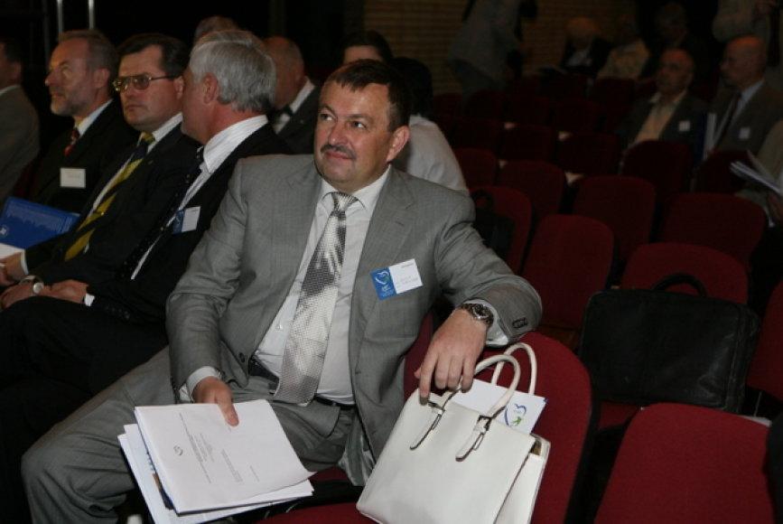 Tėvynės sąjungos-Lietuvos krikščionių demokratų partijos suvažiavimas. Nuotraukoje – Vilniaus miesto meras Vilius Navickas
