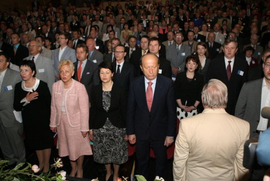 Tėvynės sąjungos-Lietuvos krikščionių demokratų partijos suvažiavimas