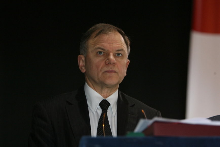 LSDP pirmininko pavaduotojas Vytenis Andriukaitis