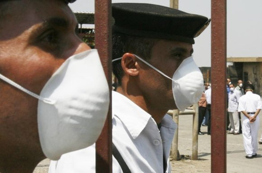 Egipto policijos pareigūnai