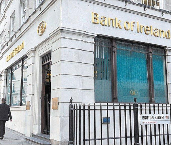 Airijos vyriausybė bankams skyrė rekordinę paramą.
