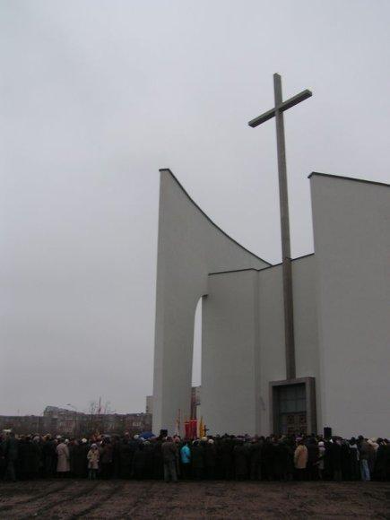 Šiauliuose atidaryta nauja bažnyčia.