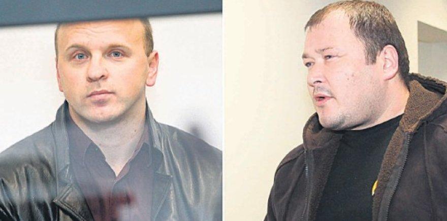 E.Gudeliauską (kairėje) bei V.Baltrušį gina elitiniai Kauno advokatai.