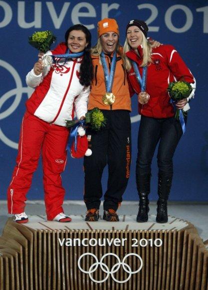 Nicolien Sauerbreu,Jekaterina Iljuchina ir Marion Kreiner