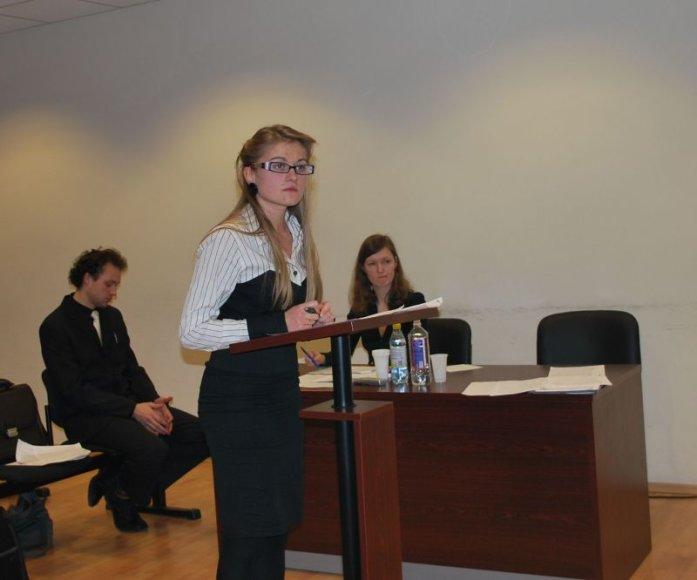Teismo inscenizacijos varžybas laimėjo VU teisininkai.