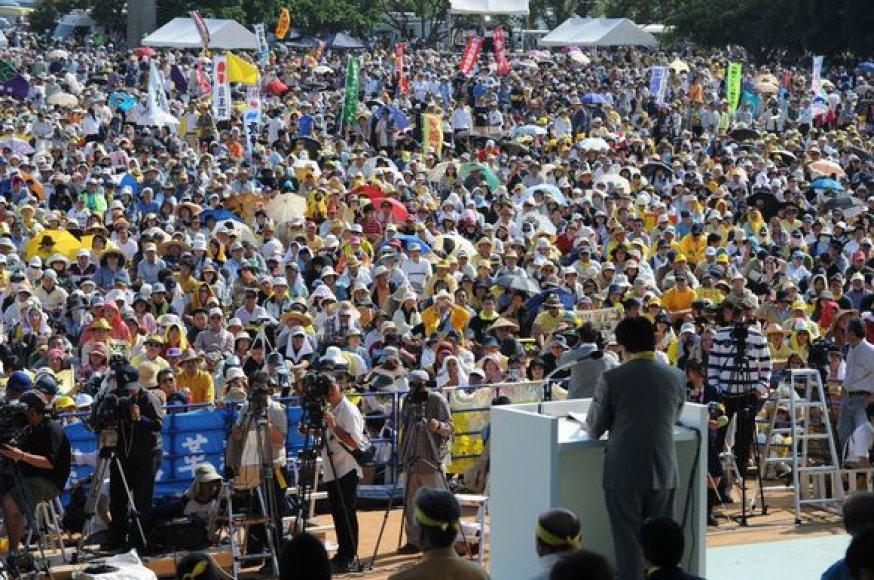 Protestas Okinavos saloje