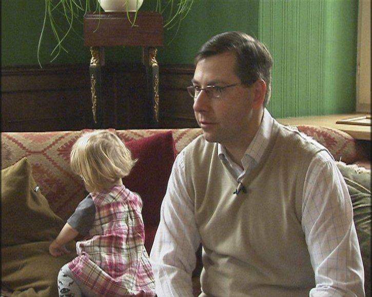 Švietimo ir mokslo ministro G.Steponavičiaus šeimai išbandymas – kitoks vaikas.